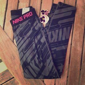 Nike Dry fit leggings size girls' medium